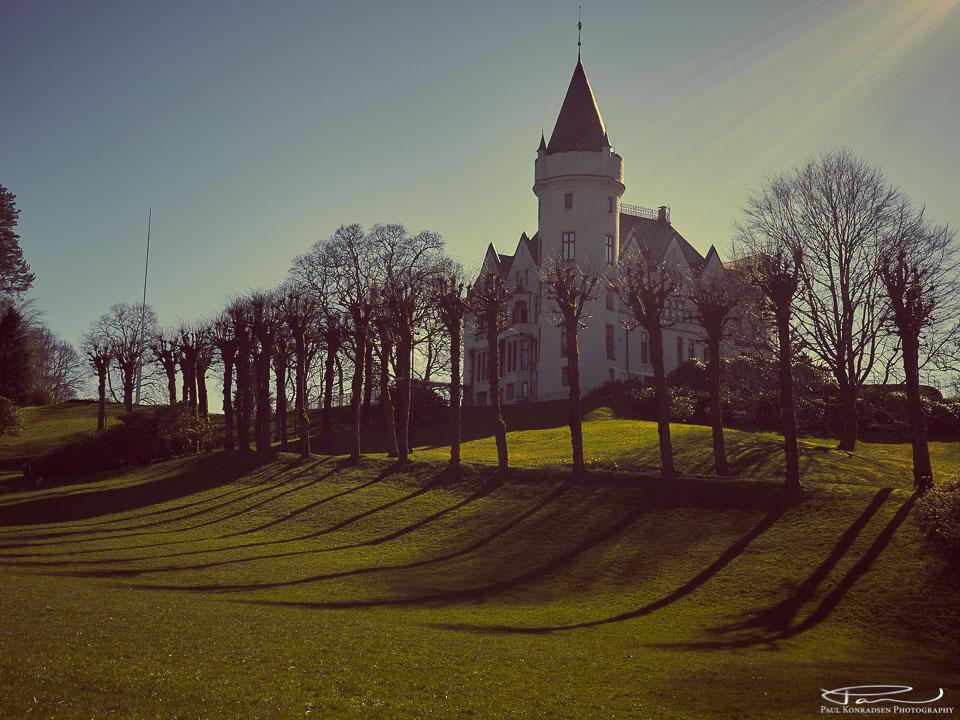 Gamlehaugen i Bergen, også kalt Slottet. Dette er forøvrig Kongens offisielle residens i Bergen.