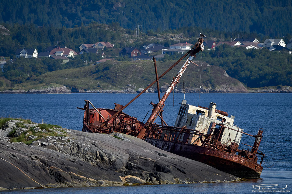 Litt av en båt...